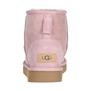 UGG Classic Mini II Pink Crystal Boots NIB
